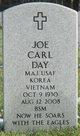 Maj Joe Carl Day