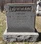 Elizabeth <I>Hunter</I> Lowman