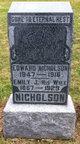 Profile photo:  Edward Nicholson