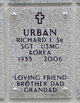 Richard L Urban, Sr