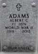 Profile photo:  Albert C Adams