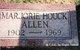 Profile photo:  Marjorie <I>Houck</I> Allen