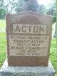 "Profile photo:  Aaron Ernest ""Ernie"" Acton"