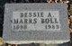 Profile photo:  Bessie A. <I>Daniels</I> Boll