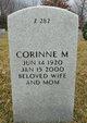 Corrine Mildred <I>Bailey</I> Tertipes