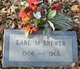 Profile photo:  Earl M Brewer