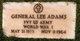 Profile photo: Pvt General Lee Adams