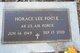 Horace Lee Fogle