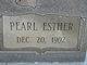 Pearl Esther <I>Antley</I> Taylor