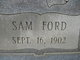 Sam Ford Taylor