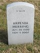 Profile photo:  Arpenia Herring