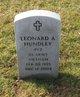 Profile photo:  Leonard A Hundley