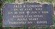 Fred B Gordon