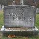 "Profile photo:  Ada Jane ""Addie Jane"" <I>Roberts</I> Adams"