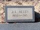 Profile photo:  J. L. Allen