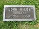 Profile photo:  John Haley Burgess