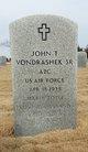 John Thomas Vondrashek Sr.