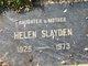 Mary Helen <I>Baden</I> Slayden