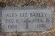"""Alexander Lee """"Alex"""" Baxley"""