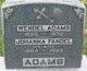 """Johanna """"Anna, Hannah"""" <I>Fandel</I> Adams"""