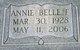 Annie Belle <I>Furr</I> Almond