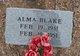 Profile photo:  Alma Blake