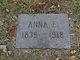 Anna F Baker