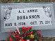 """Profile photo:  A. L. """"Annie"""" Bohannon"""