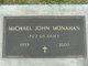 Michael John Monahan