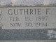Guthrie <I>Futrell</I> Spurlock