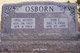 Opal Mae <I>Munds</I> Osborn