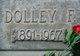 Profile photo:  Dolley F. Allred