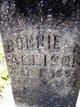 """Profile photo:  Bonnie Mae """"Bunny"""" <I>Allison</I> Allison"""