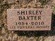 Profile photo:  Shirley Deann Baxter
