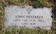 LTC John Devereux, Jr