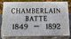 Chamberlain Batte