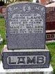 Mary <I>Walker</I> Lamb