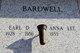 Profile photo:  Earl Denzel Bardwell