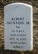 Profile photo:  Albert Jackson, Jr