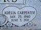 Profile photo:  Adelia Bernice <I>Carpenter</I> Anders