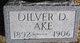Profile photo:  Dilver D. Ake