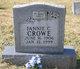 Fannie C Crowe