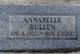 Profile photo:  Annabelle Bullen