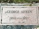 Profile photo:  George Aitken