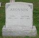 Profile photo:  Carl Aronson