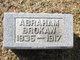 Profile photo:  Abraham Brokaw