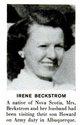 Irene J Beckstrom