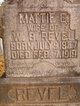 "Martha Elizabeth ""Mattie"" <I>Fodge</I> Revel"