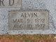 Profile photo:  Alvin Alford