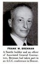 Frank M Brennan, Jr